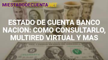 Estado de Cuenta Banco Nación