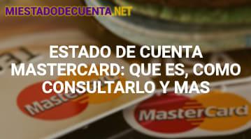 Estado de Cuenta Mastercard