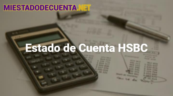 Estado de Cuenta HSBC