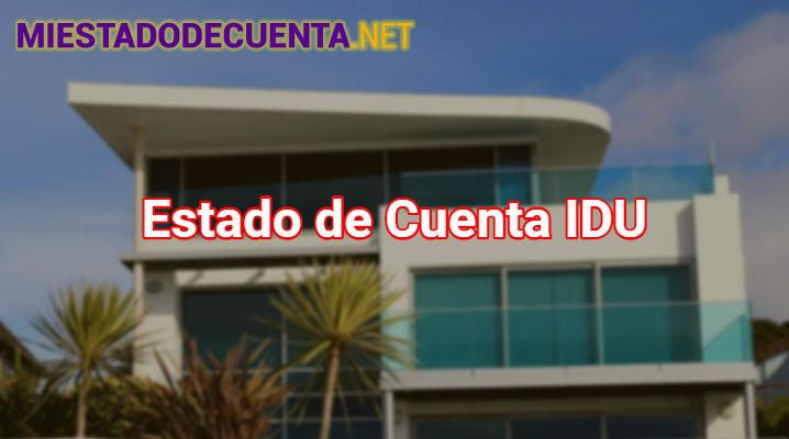 Estado de Cuenta Idu