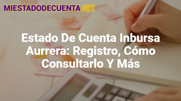 Estado De Cuenta Inbursa Aurrera: Registro, Cómo Consultarlo Y Más