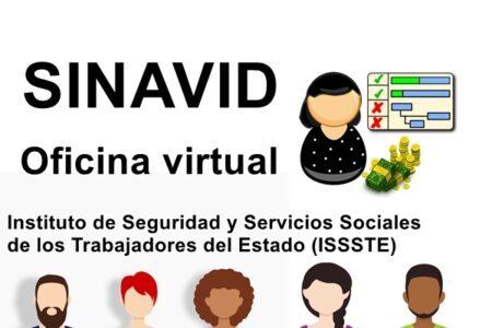 Sinavid oficina virtual ISSSTE