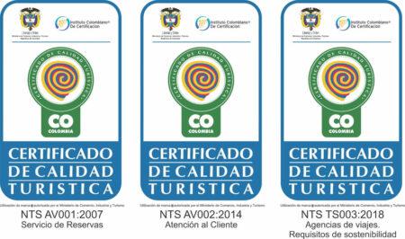 certificado de calidad turistica