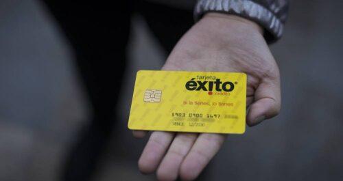 estado de cuenta tarjeta exito intro