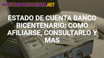 Estado de Cuenta Banco Bicentenario