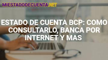 Estado de Cuenta BCP