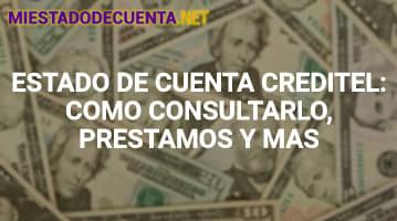 Estado de Cuenta Creditel