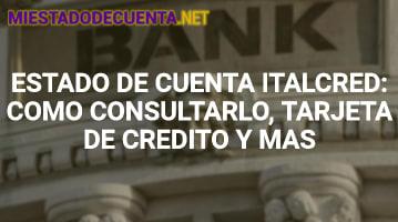 Estado de Cuenta Italcred