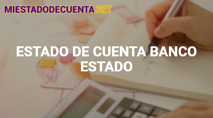 Estado de Cuenta Banco Estado