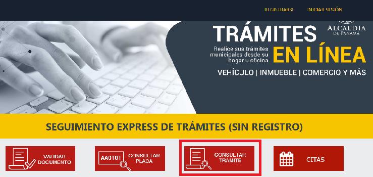 Estado de Cuenta Municipio de Panamá Cómo Consultar un tramite