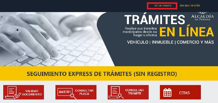 Estado de Cuenta Municipio de Panamá Registro