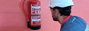 Quién puede solicitar una revisión de extintores