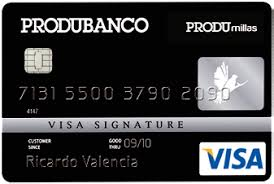 Tarjeta de Crédito Produbanco
