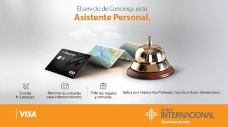 tarjeta visa banco internacional